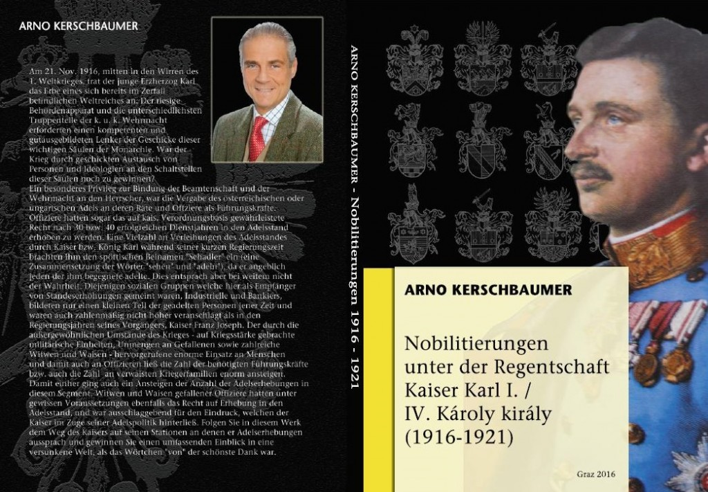 Rezension zum Buch Nobilitierungen Kaiser Karl I.