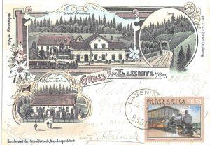Gasthof Schauer um 1898