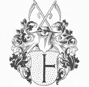 bäuerliches Wappenj der Familie Meyer