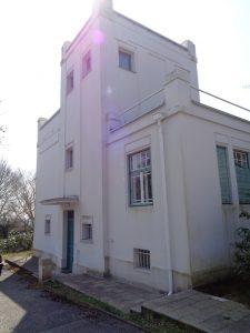 denkmalgeschützte Villa Luginsland um 2015