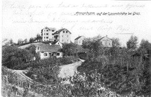 Annenheim mit Gasthaus Waldlust um 1914