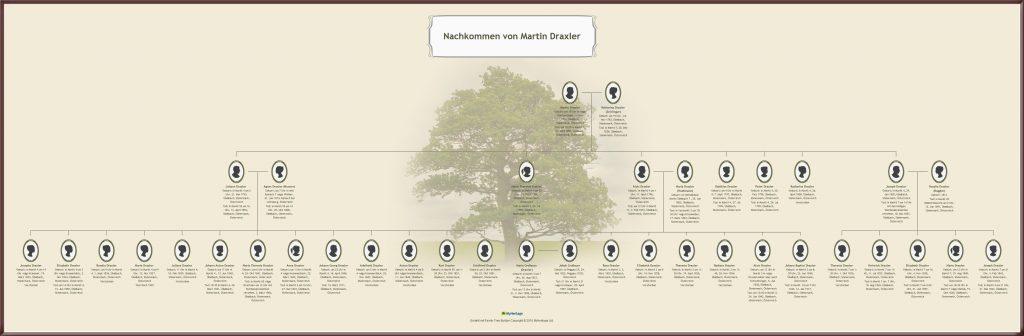 Familienstammbäume: Nachkommen von Martin Draxler