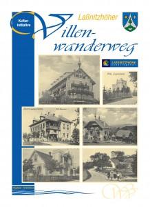 Titelseite Folder zum Laßnitzhöher Villenwanderweg 2012