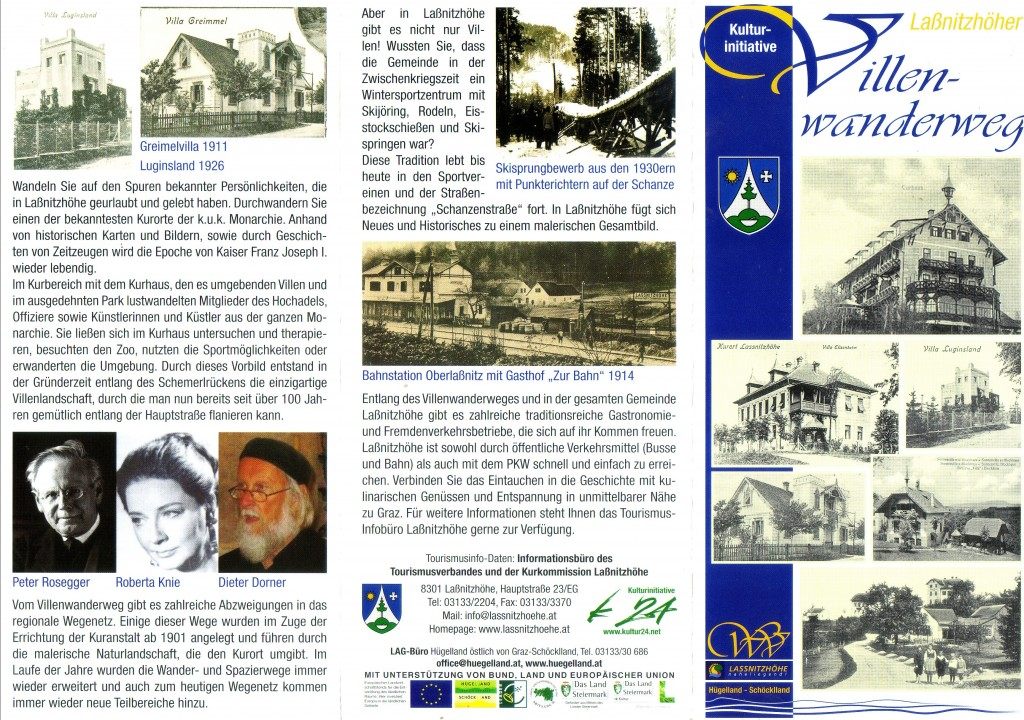 Download Flyer zum Villenwanderweg