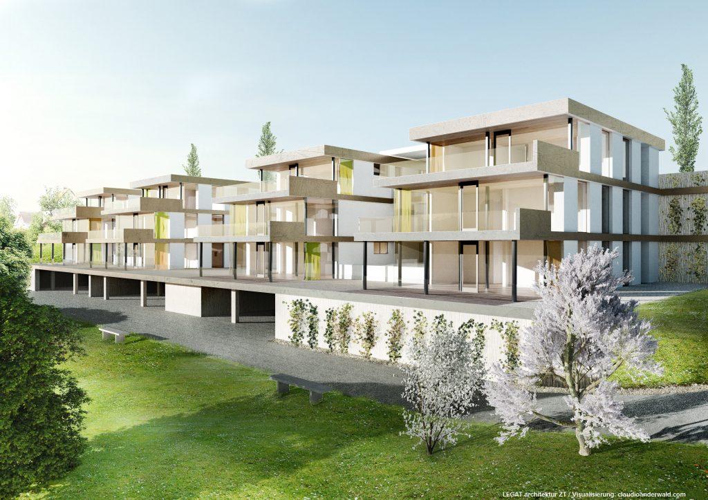 Außenanicht Terrassenwohnungen Laßnitzhöhe