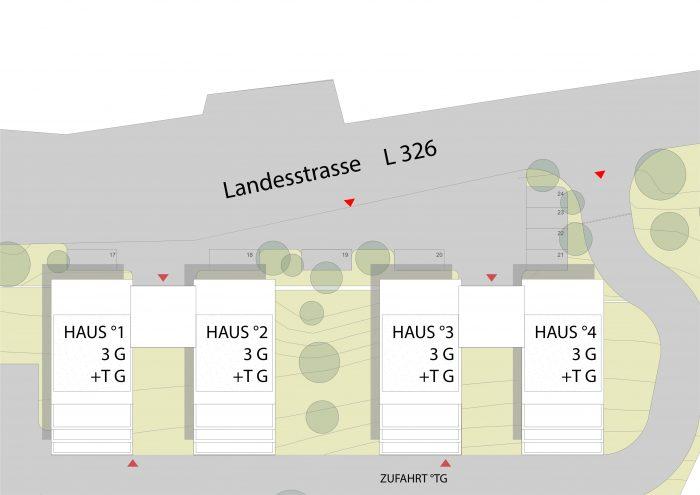 allgemeine Bereiche: Plan der Parkplätze