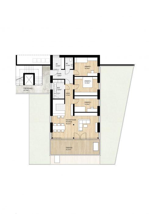 Wohnung Top10 im 1. Obergeschoß