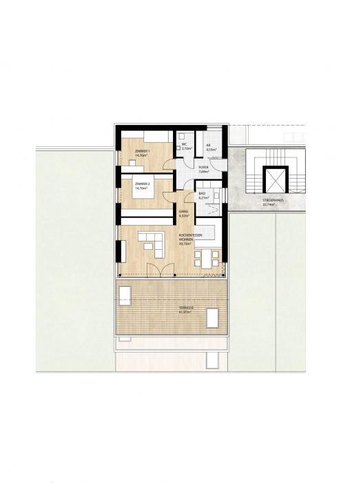 Wohnung Top11 im 2. Obergeschoß
