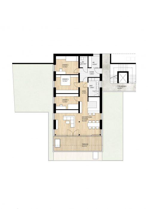 Wohnung Top3 im 1. Obergeschoß