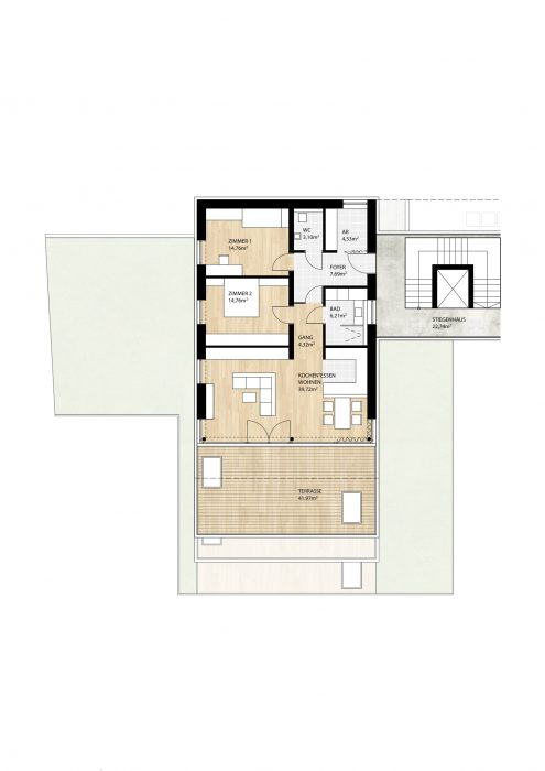 Wohnung Top5 im 2. Obergeschoß