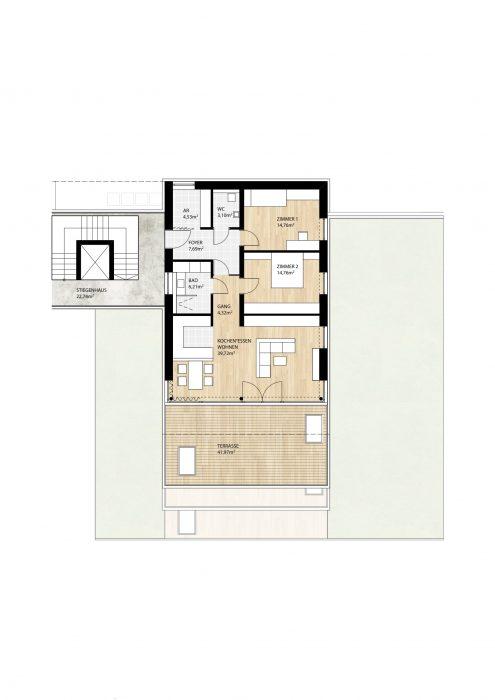 Wohnung Top6 im 2. Obergeschoß