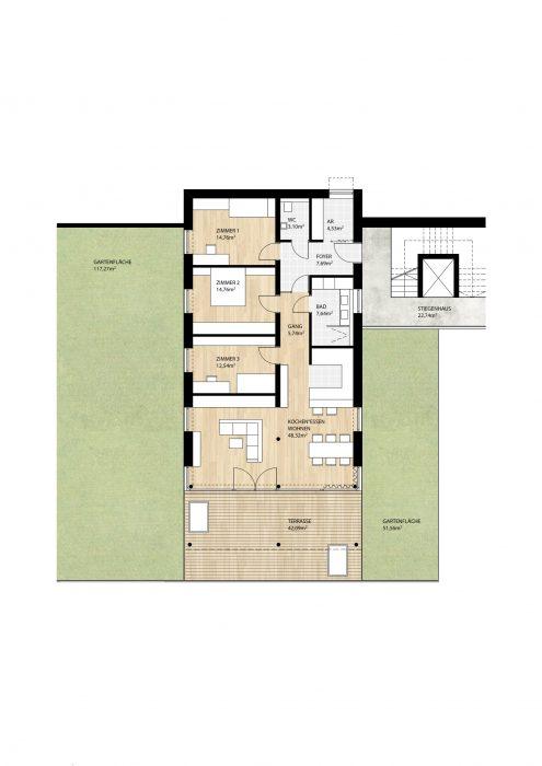 Wohnung Top7 im Erdgeschoß