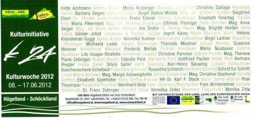 Rückseite der Einladung zur Eröffnung des Laßnitzhöher Villenwanderweges 2012