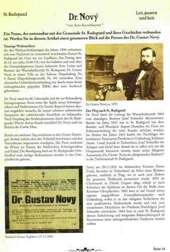 Schöcklschatz Artikel Dr. Novy