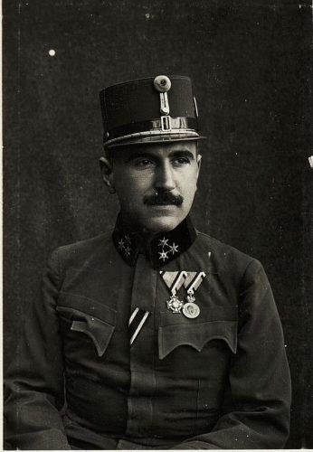Hauptmann Friedrich Aichinger Tiroler Jägerregiment Nr. 2
