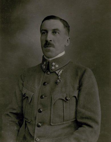 Hauptmannauditor der k.k. Landwehr Dr. Albin Vogel