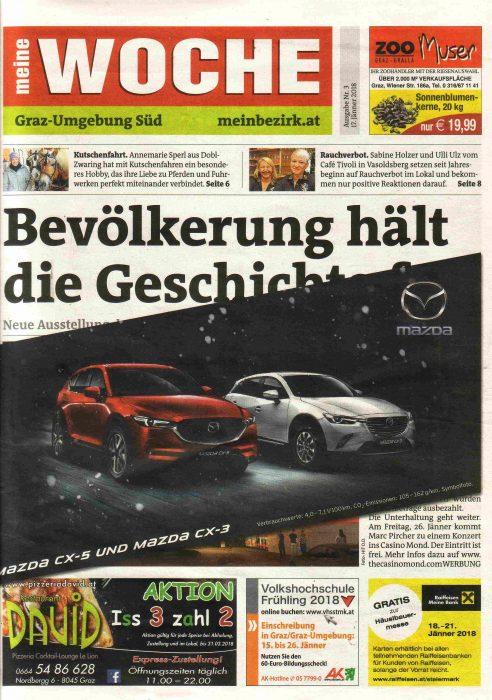 Titelseite Graz-Umgebung Süd 3 mit Werbung