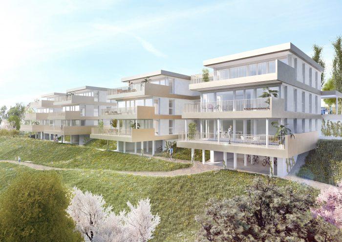 Terrassenwohnungen Laßnitzhöhe von Nordosten