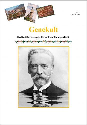 Cover Genekult Heft 2